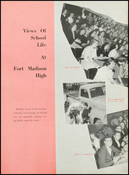 1952 Ft. Madison High School Yearbook Page 8