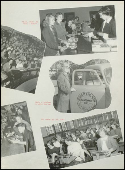 1952 Ft. Madison High School Yearbook Page 9