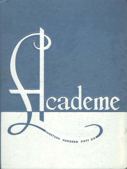 1956 Erie County Technical High School Yearbook Cover