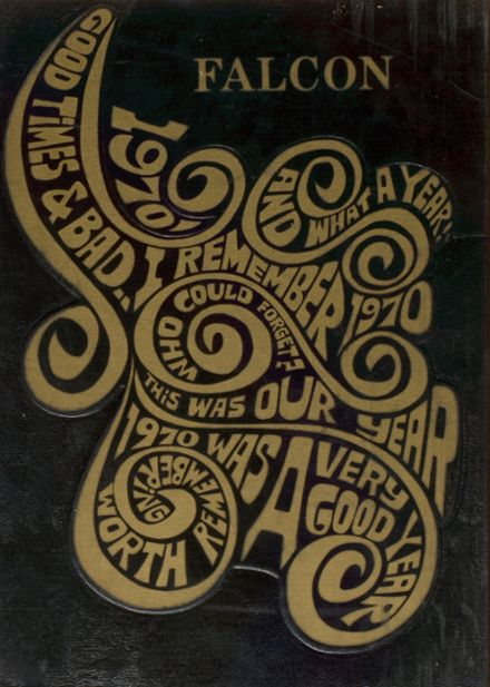 1970 Louisa-Muscatine High School Yearbook Cover