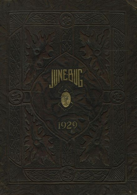 1929 East Technical High School Yearbook Cover