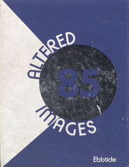 1985 Corona Del Mar High School Yearbook Cover
