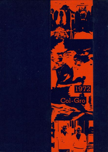 1972 Columbus Grove High School Yearbook Cover