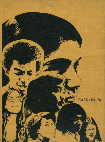 1974 Long Beach Polytechnic High School Yearbook Cover