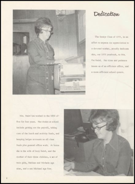 1973 Mounds High School Yearbook Page 6