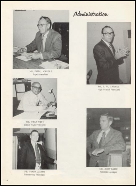 1973 Mounds High School Yearbook Page 8