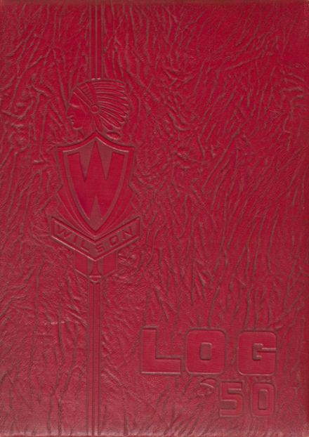 1950 Wilson High School Yearbook Cover
