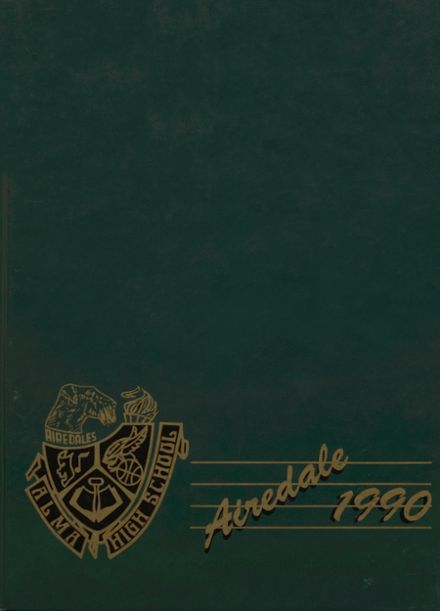 1990 Alma High School Yearbook Cover