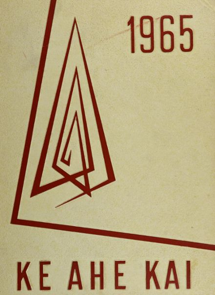 1965 Waianae High School Yearbook Cover