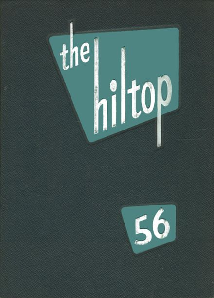 1956 Hillsboro High School Yearbook Cover