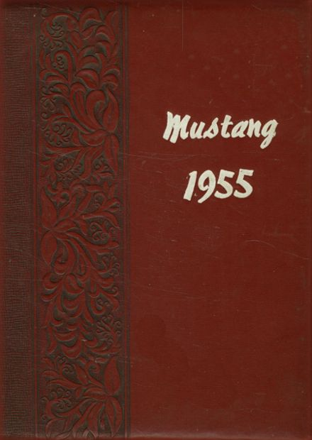 1955 Grapevine High School Yearbook Cover