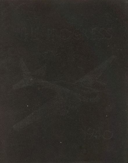 1940 Lind High School Yearbook Cover