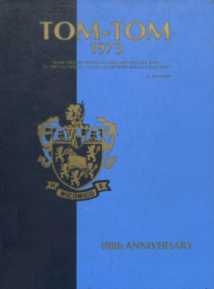 1973 Wicomico High School Yearbook Cover