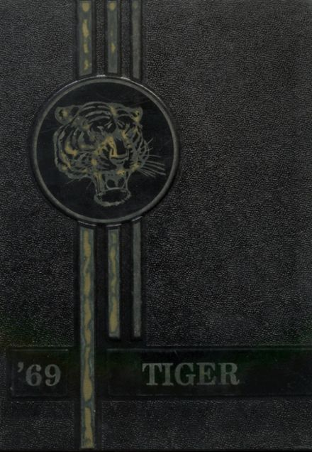 1969 Talihina High School Yearbook Cover