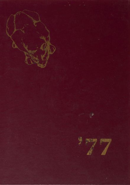 1977 Prouty Regional High School Yearbook Cover