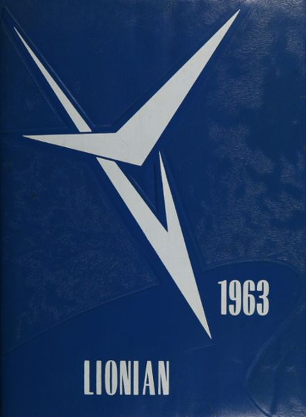 1963 Goddard High School Yearbook Cover