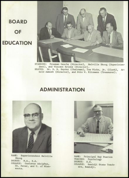 1958 Elmore High School Yearbook Page 8