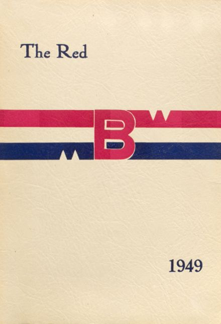 1949 Brodhead High School Yearbook Cover