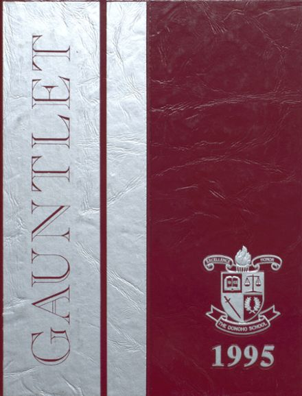 1995 Donoho High School Yearbook Cover