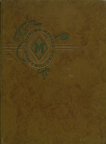 1942 J. Sterling Morton East High School Yearbook Cover