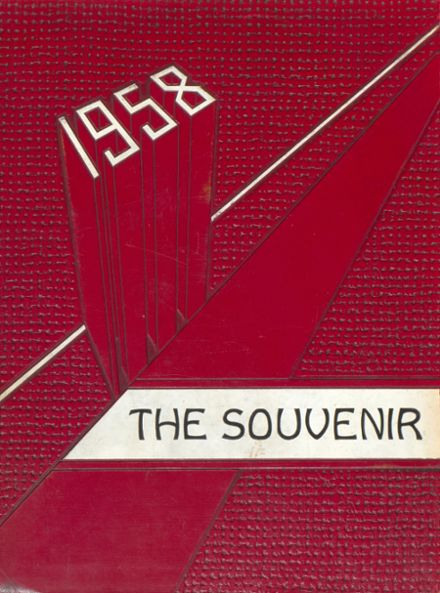 1958 Holt High School Yearbook Cover