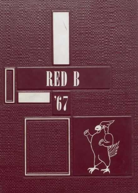 1967 Brodhead High School Yearbook Cover