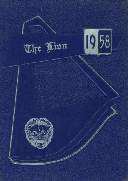 1958 Clint High School Yearbook Cover