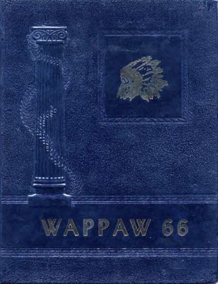 1966 Paw Paw High School Yearbook Cover