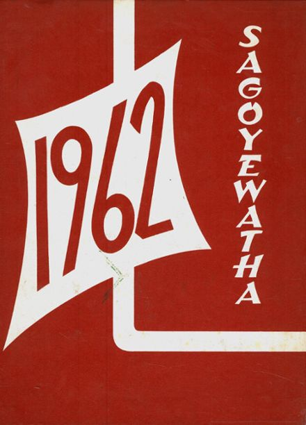 1962 Red Jacket Central High School Yearbook Cover