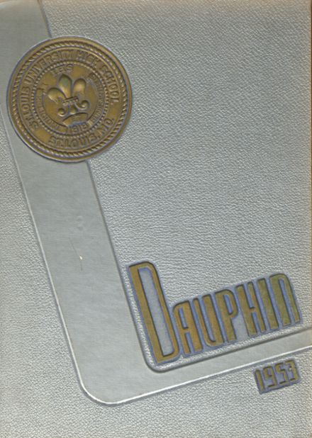 1953 St. Louis University High School Yearbook Cover