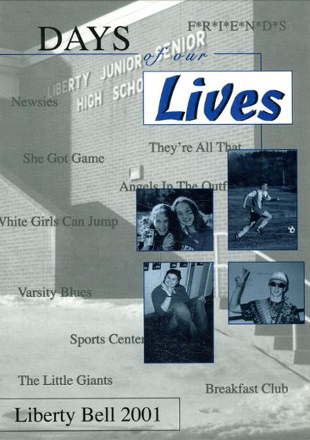 2001 Liberty Junior-Senior High School Yearbook Cover