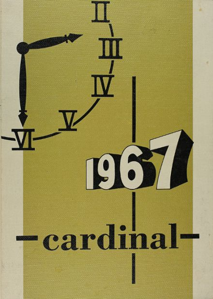 1967 Glendale High School Yearbook Cover