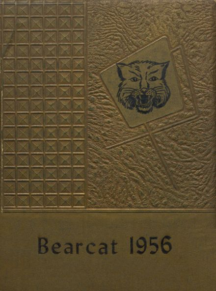1956 Panola High School Yearbook Cover