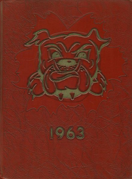 1963 Freedom Area High School Yearbook Cover