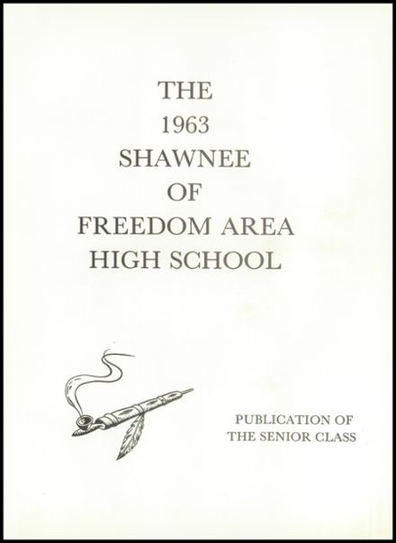 1963 Freedom Area High School Yearbook Page 5
