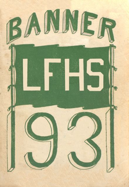 1931 Livermore Falls High School Yearbook Cover