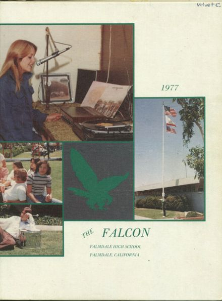 1977 Palmdale High School Yearbook Cover