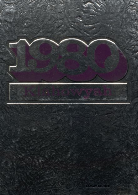 1980 Foster High School Yearbook Cover