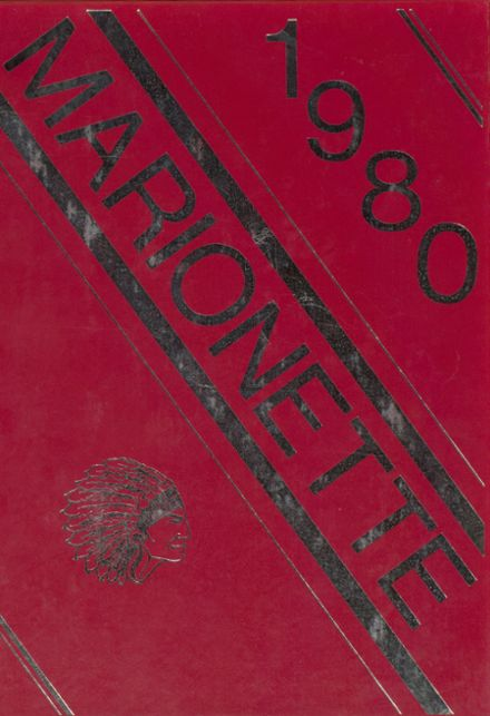 1980 Marion County High School Yearbook Cover