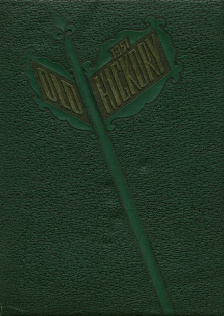 1951 Miami Jackson High School Yearbook Cover