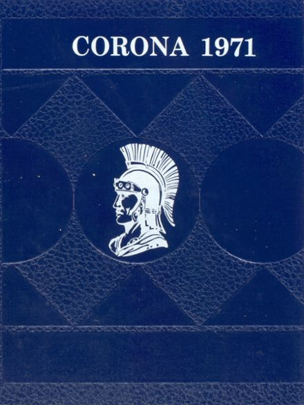 1971 Durham High School Yearbook Cover
