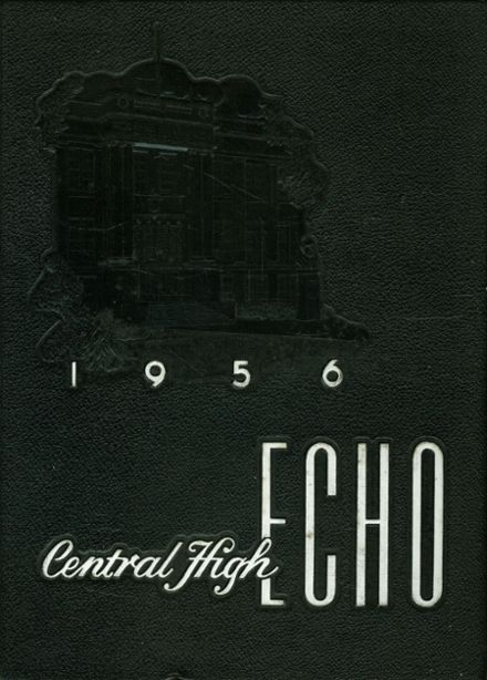 1956 Central High School Yearbook Cover