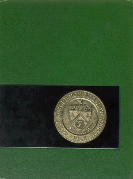 1968 St. Joseph Regional High School Yearbook Cover