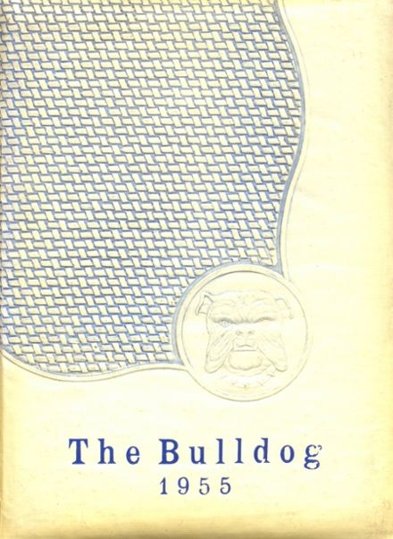 1955 Bratton Union Consolidat High School Yearbook Cover