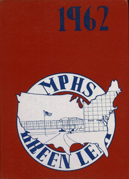 1962 Mt. Pleasant High School Yearbook Cover