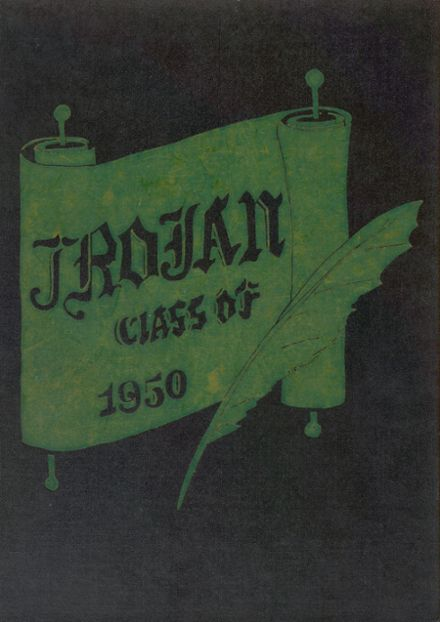 1950 Clarenceville High School Yearbook Cover