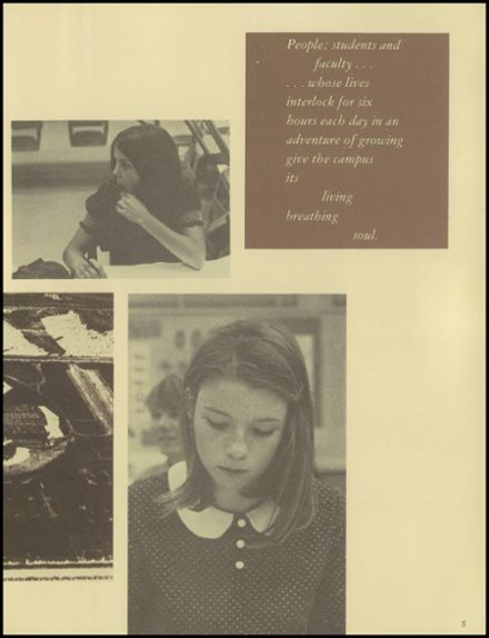1970 Fairfield High School Yearbook Page 9