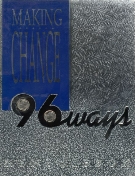 1996 Guthrie High School Yearbook Cover