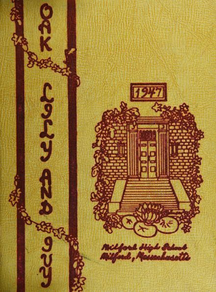 1947 Milford High School Yearbook Cover