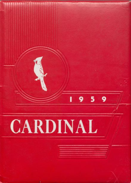 1959 Joplin-Inverness High School Yearbook Cover